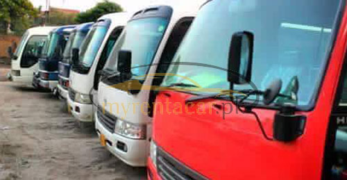 Toyota coaster saloon 29 seater