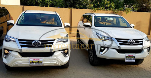 Toyota Fortuner 2.7 automatic transmission 7 seater